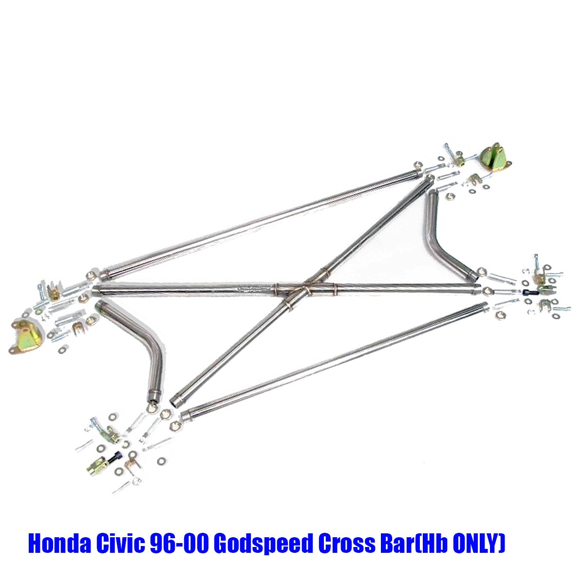 Honda Civic 96 97 98 99 00 Godspeed Cross BAR (Hatchback