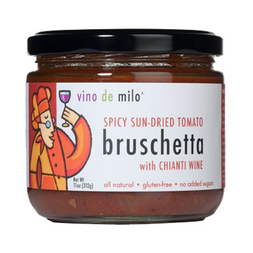 Bruschetta by Vino de Milo - Spicy Sun Dried Tomato