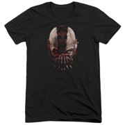 Dark Knight Rises Bane Mask Mens Tri-Blend Short Sleeve Shirt