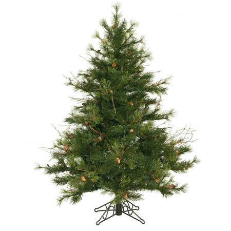 Vickerman Unlit 4.5' Mixed Country Pine Artificial Christmas (Country Pine Blades)