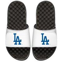 Los Angeles Dodgers ISlide Youth Alternate Logo Slide Sandals - White