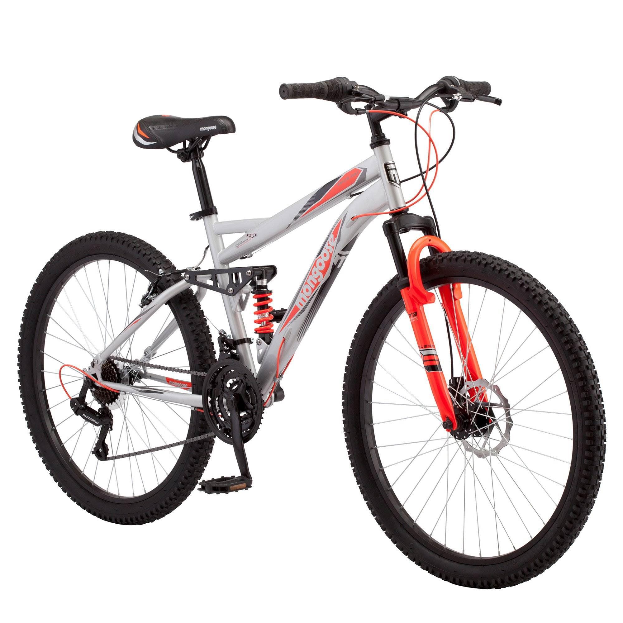 "26/"" NEXT Men Bicycle Bike Full Suspension 21 Speed V Brakes NEW"