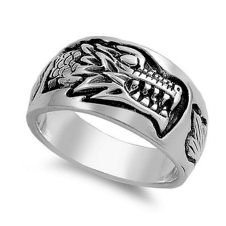 925 Sterling Silver Dragon Ring (Dragon Ring)