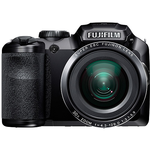 FUJIFILM 16303014 16.2 Megapixel FinePix(R) S6800 Digital Camera (Black)