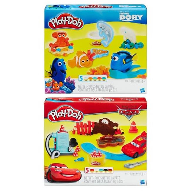 Hasbro HSBB5527 Play Doh-Licensed Assorted , Pack of 6 by Hasbro
