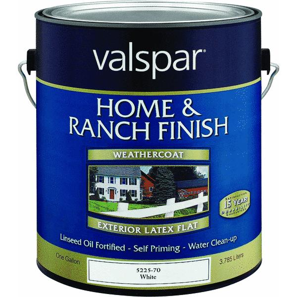 Valspar Exterior Latex Home and Ranch Paint (Set of 4)
