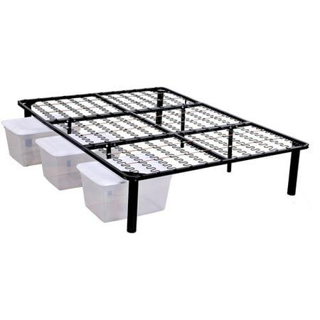 Steel Platform Bed Frame - Walmart.com