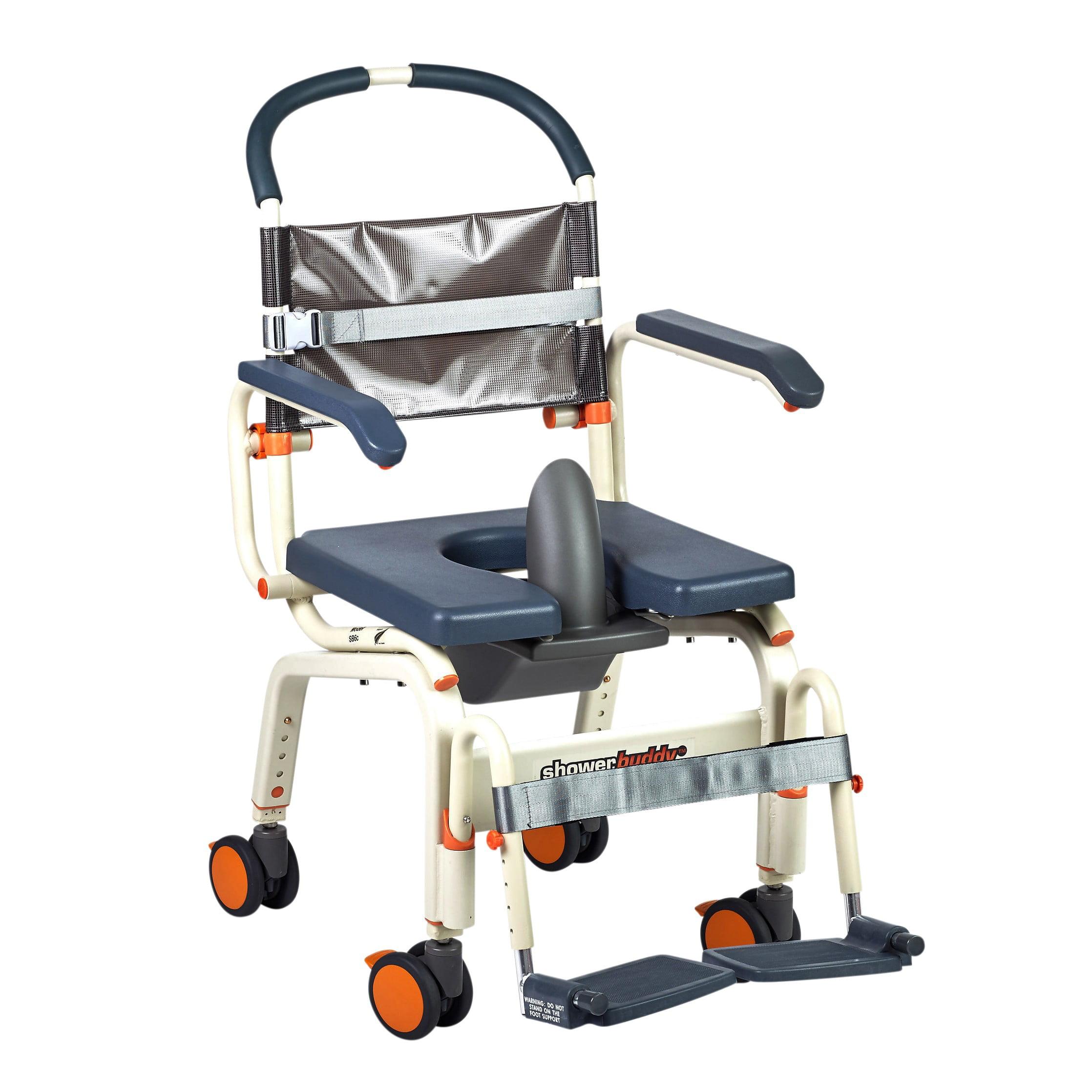 Showerbuddy Roll-In Buddy Lite Shower Commode Chair