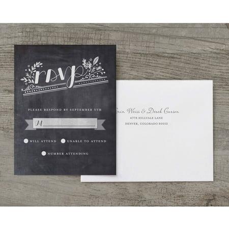 Woodland Wedding Deluxe RSVP](Woodland Invitations)
