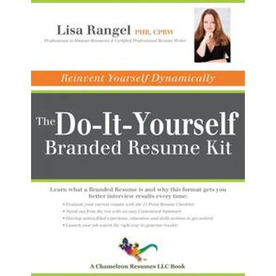 The Do It Yourself Branded Resume Kit Ebook Walmart Com