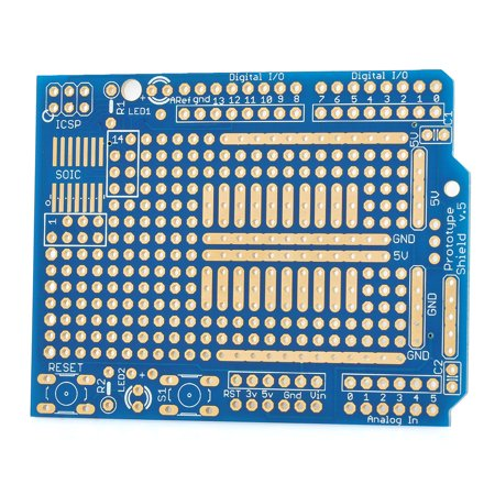 Board Shield - Works with Official Arduino Boards Prototyping Shield PCB Board for Arduino