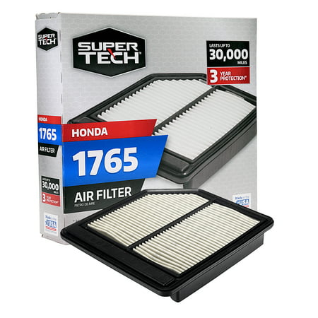 SuperTech 1765 Engine Air Filter, Replacement Filter for Honda ()