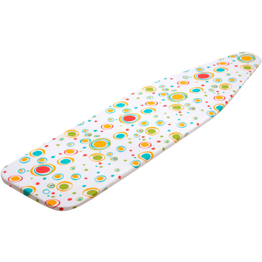 "Honey Can Do 54"" Ironing Board Cover with Pad, Multicolor"