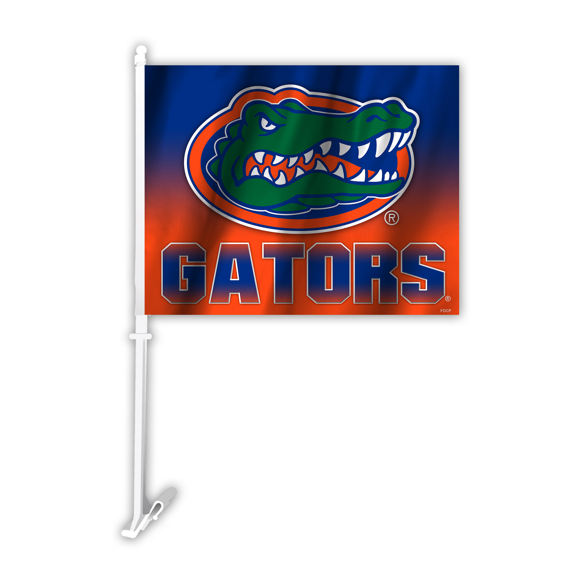 NCAA Florida Gators Ombre Car Flag