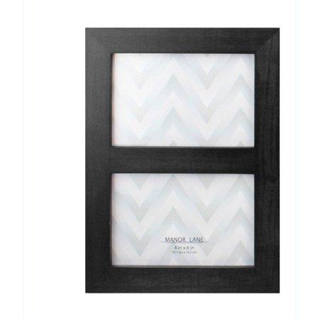 2 opening black 4 x 6 39 39 picture frame. Black Bedroom Furniture Sets. Home Design Ideas