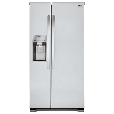 lg lsxs22423s 33 inch side by side refrigerator. Black Bedroom Furniture Sets. Home Design Ideas