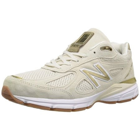 best service 66d7c 0b34f New Balance M990AG4: Mens 990 Running Atheletic Angora/White Sneakers (12.5  D(M) US Men)