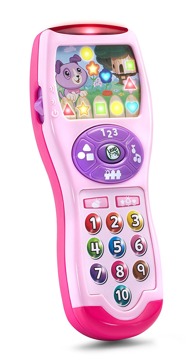 LeapFrog Violet's Learning Lights Remote Online Exclusive Pink, Tune in to discover shapes... by LeapFrog