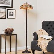Warehouse of Tiffany Tiffany-style Ariel Floor Lamp