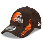 Cleveland Browns New Era Toddler 2021 NFL Sideline Home 9FORTY Snapback Adjustable Hat - Brown - OSFA