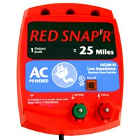Zareba Red Snap'R Eac25M-Rs/Li30C Low Impedance Fence Controller