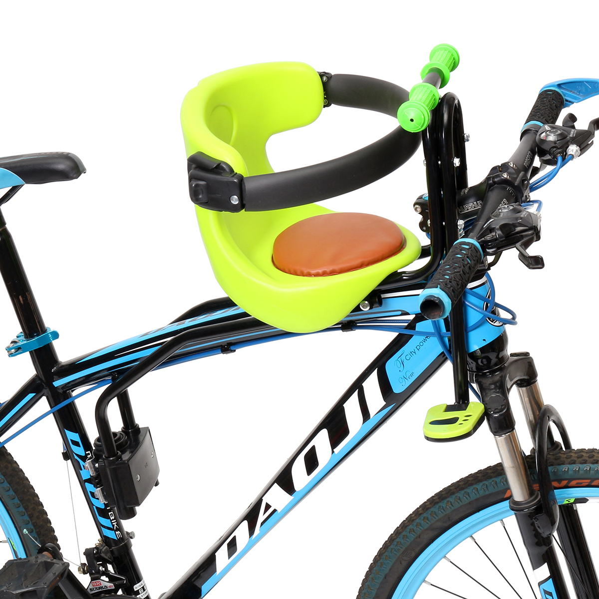Kids Bicycle Chair Baby Carrier Saddle Bike Safe Toddler Child Seat Front Mount