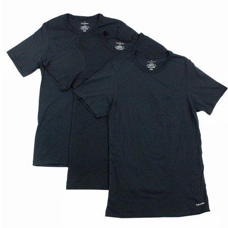 Calvin Klein Men's 3-Pc Cotton Slim Fit Crew Neck Basic T-Shirt