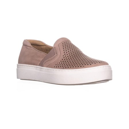 - Womens naturalizer Carly Platform Slip-On Sneakers, Vintage Mauve