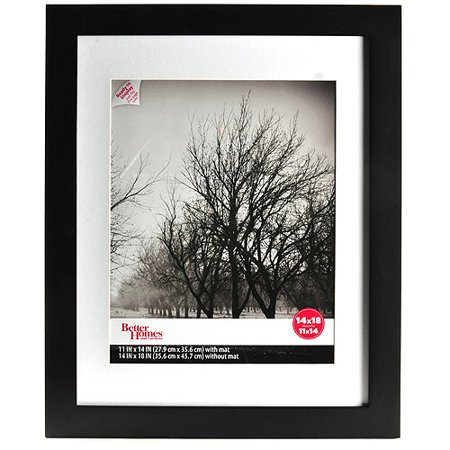 Better Homes And Gardens Flat Gallery 14x18 Matted Picture Frame