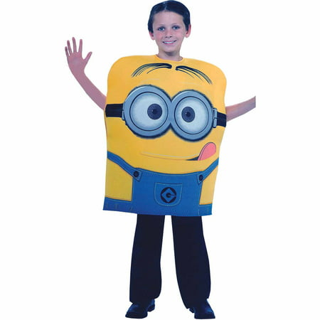 Despicable Me 2 Dave Child Halloween Costume - Minions Despicable Me Halloween Costumes