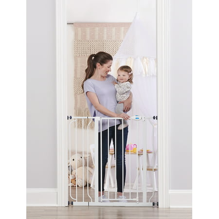Regalo Extra Tall Baby Gate with Walk Through