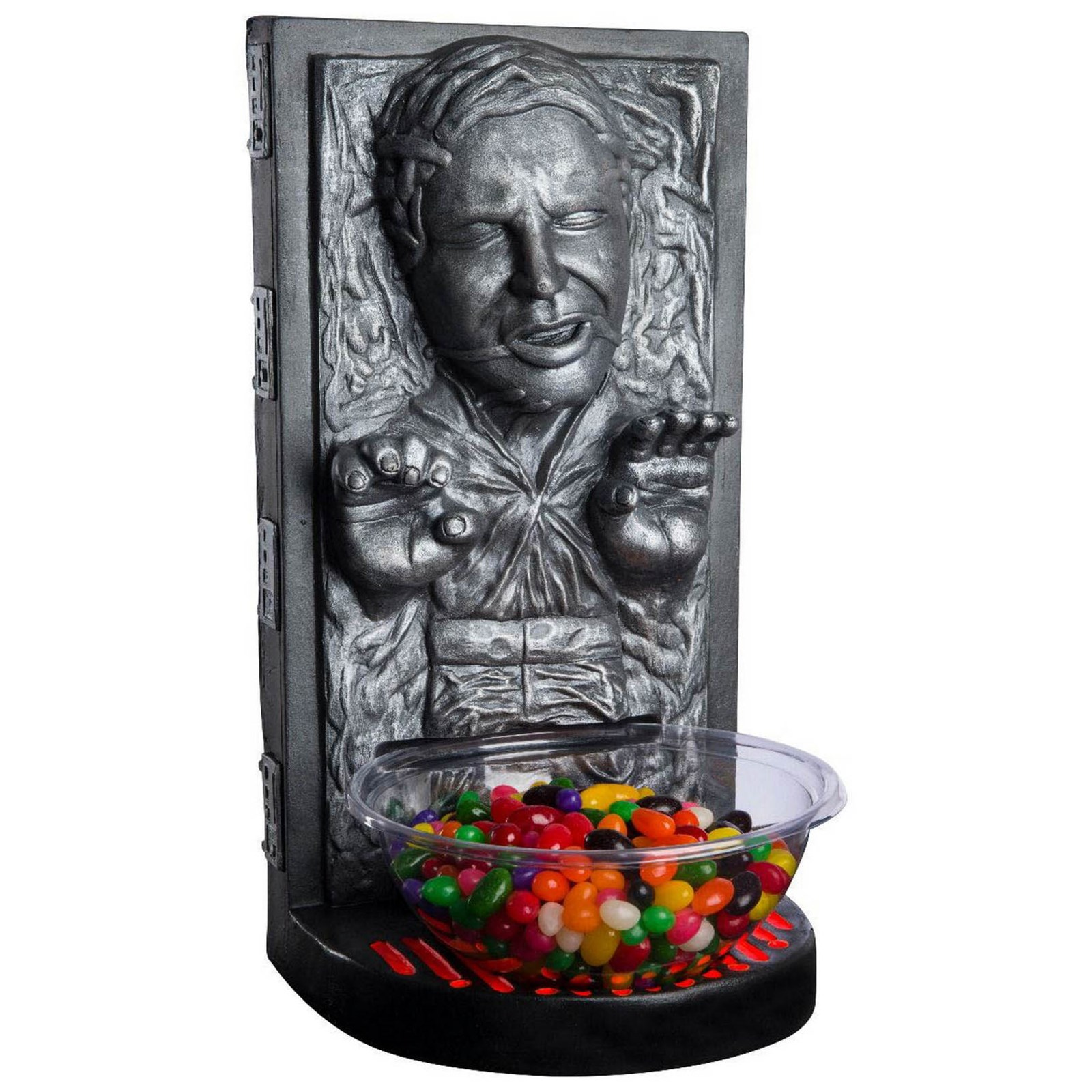 Star Wars Classic Han Solo In Carbonite Candy Bowl Holder