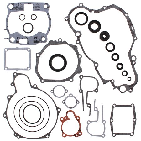 New Gasket Kit With Oil Seals for Yamaha WR250 91 92 93 94