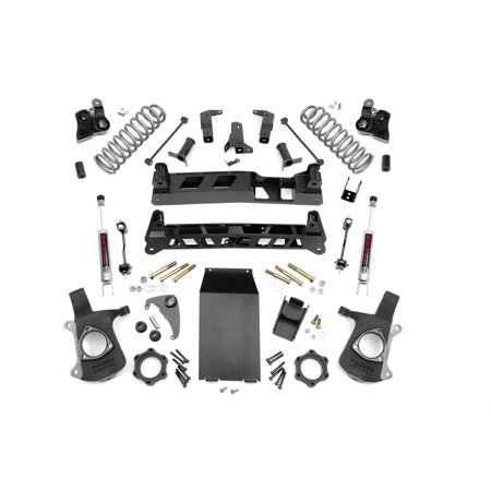Rough Country - 27920 - 6-inch Non-Torsion Drop Suspension Lift System w/ Premium N2.0 Shocks for Chevrolet: 02-06 Avalanche 1500 4WD, 00-06 Suburban 1500 4WD; GMC: 00-06 Yukon XL 1500 (Rapidvap N2 Evaporation System)