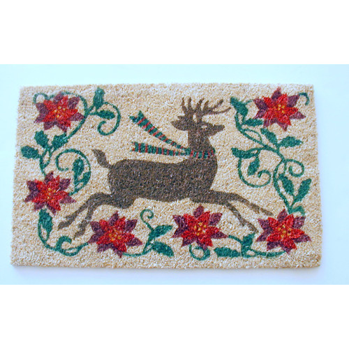 Geo Crafts, Inc Reindeer Doormat
