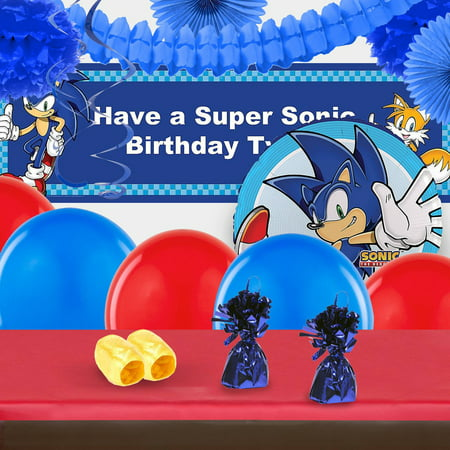 Sonic the Hedgehog Complete Party Decoration Kit