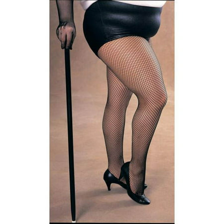 Plus Size Womens Fishnet Thighs