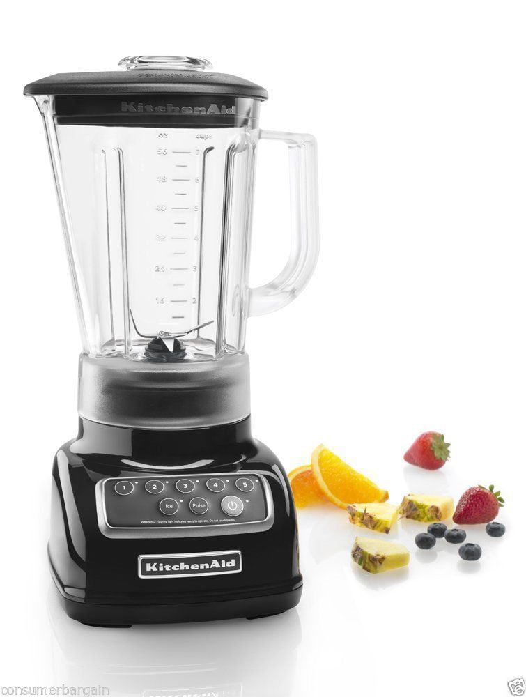 Charming KitchenAid 5 Speed Blender, Empire Red (KSB1570ER)   Walmart.com