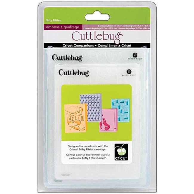 Cuttlebug Nifty Fifties Set Embossing Folders