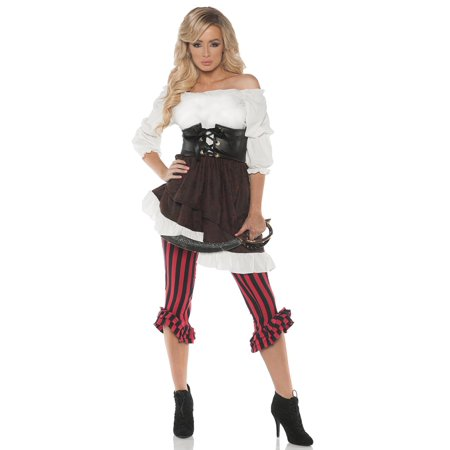 Wench Womens Adult Pirate Beer Maiden Victorian Halloween Costume