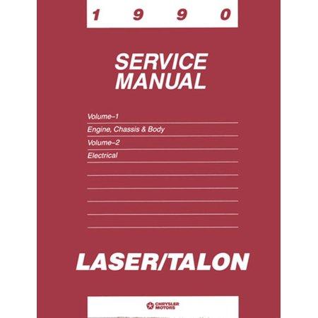 Bishko OEM Repair Maintenance Shop Manual Bound for Eagle Talon 1990