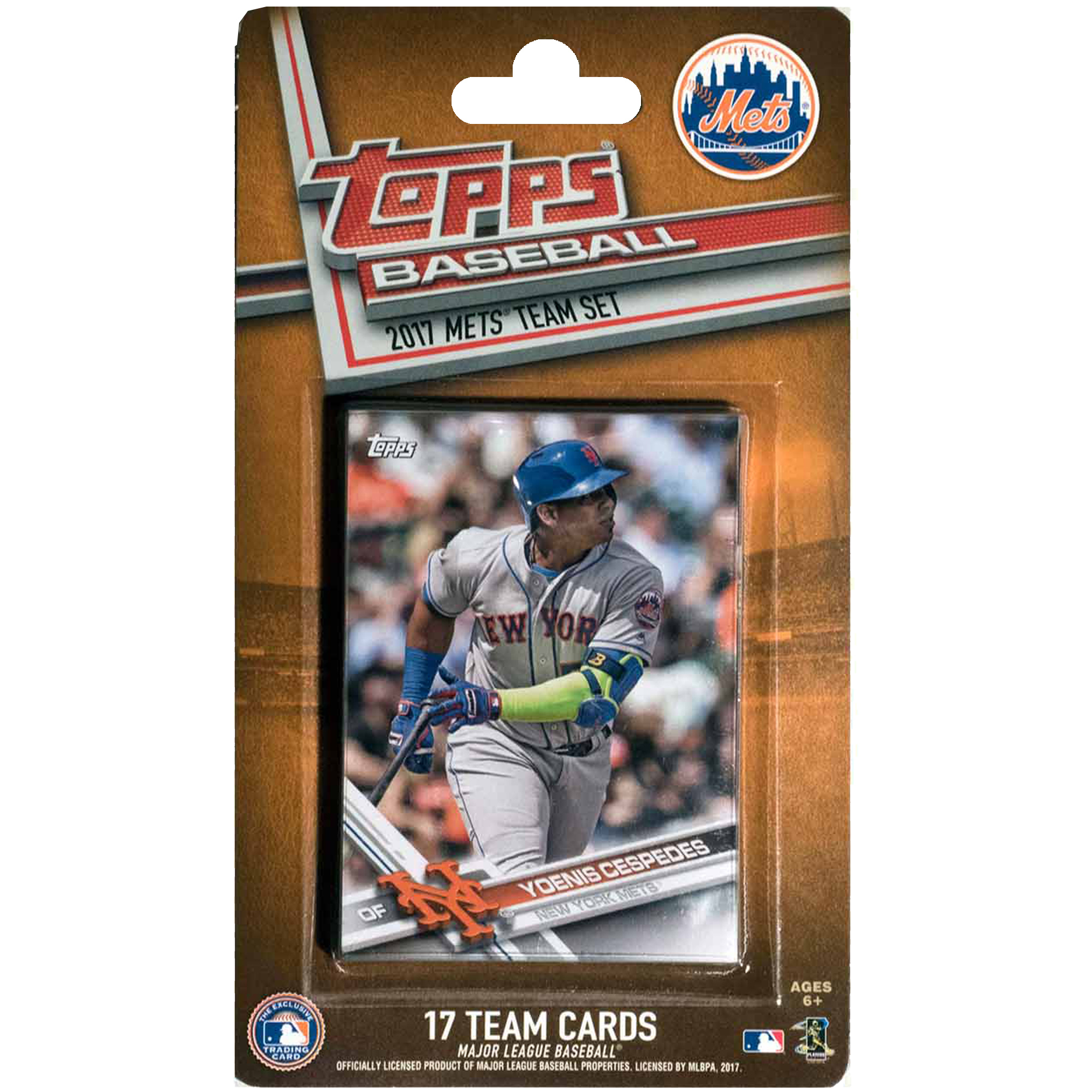 New York Mets 2016/17 Team Set Baseball Trading Cards - No Size