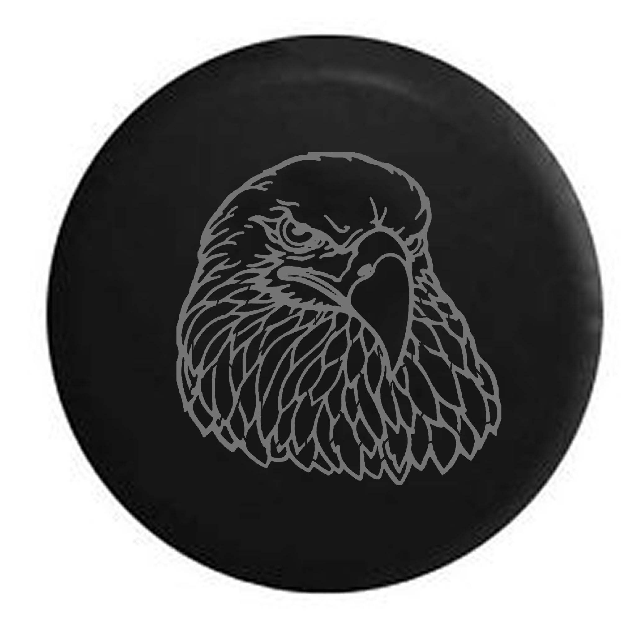 American Eagle Patriotic Spare Tire Cover Vinyl Stealth B...