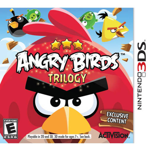 Angry Birds Trilogy (Nintendo 3DS) - Pre-Owned