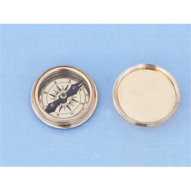 Handcrafted Model Ships CO-0652 Solid Brass Clinometers Compass Paperweight 3 in. Nautical Accents Decorative Accent