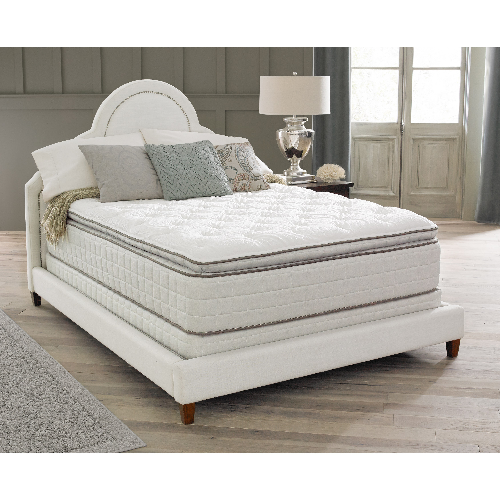 mattress queen size. Spring Air Backsupporter Sadie Pillow Top Queen-size Mattress Set Queen Size