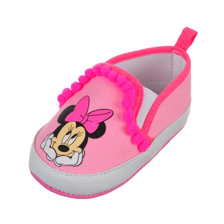 Minnie Mouse Baby Girls' Slip-On Booties for $<!---->