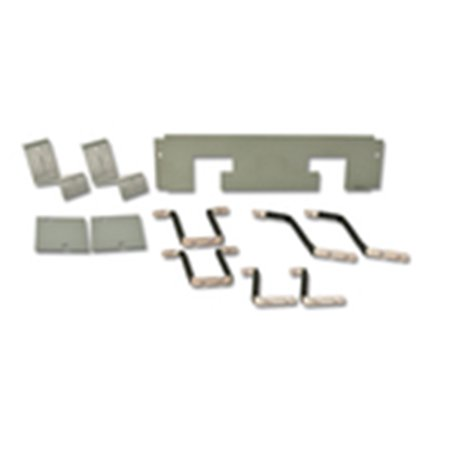 Eaton Panelboard, Hardware Connector Kit, for PRL4 KD, 2/3P, Single Mount Panelboard Connector Kit, PRL4, 2- and 3-Pole, Single Mounting, For DK, KD, KDB, HKD and KDC Circuit Breakers. Kit includes copper connectors, mounting brackets, covers, hardware an instructions for mounting breaker(s). Breakers are not included.