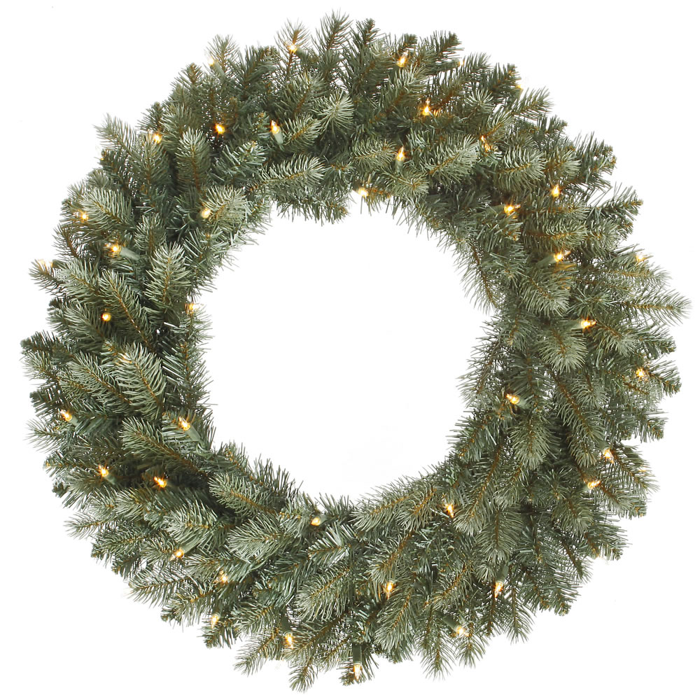 Vickerman 24 in. Colorado Blue Wreath