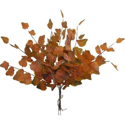 Charlton Home Dried Autumn Spray Desk Top Plant (Set of 12)